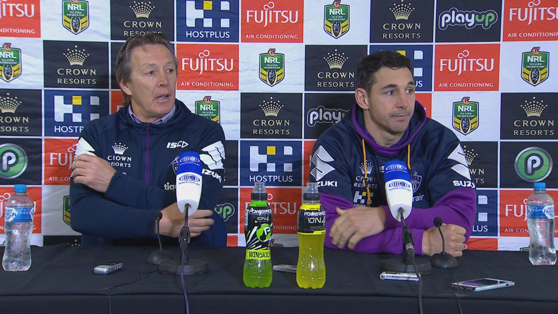 Storm press conference - Round 21