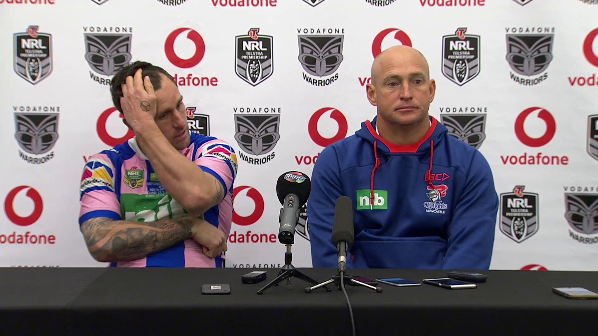 Knights press conference: Round 22, 2018