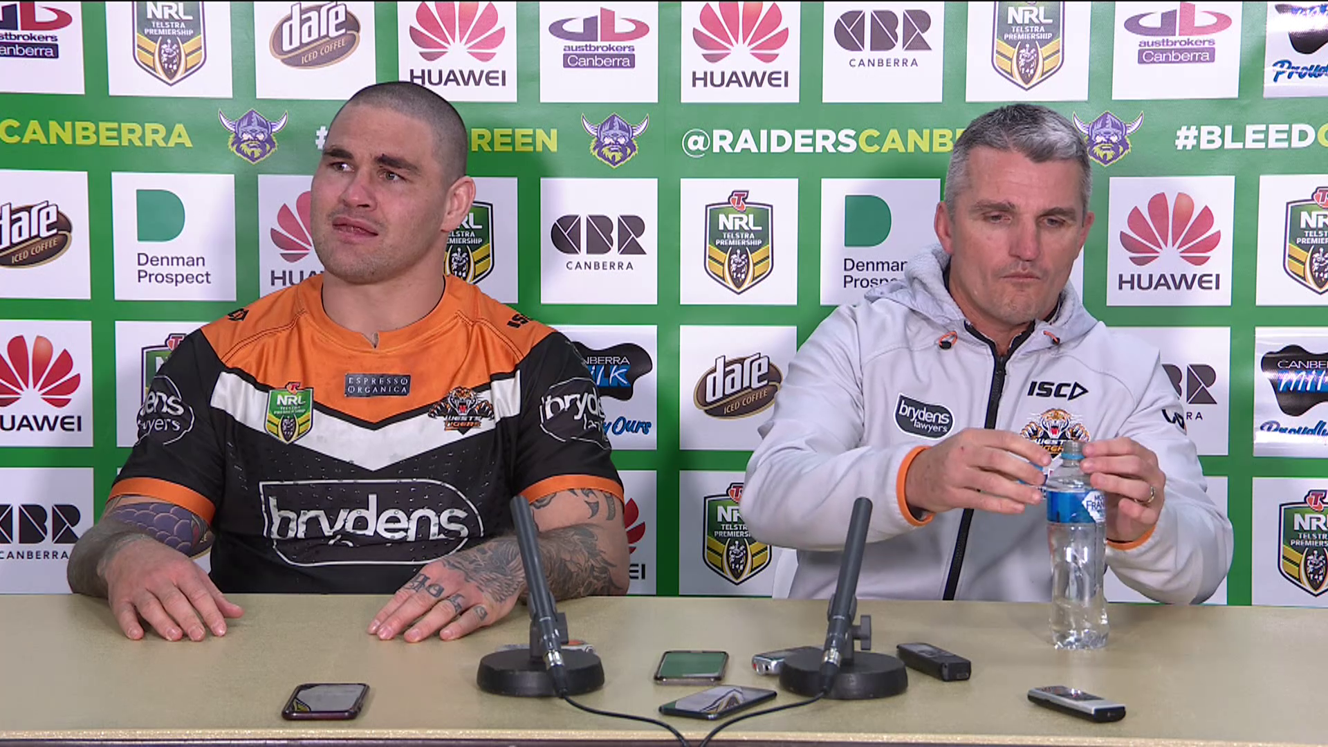 Wests Tigers press conference: Round 22, 2018
