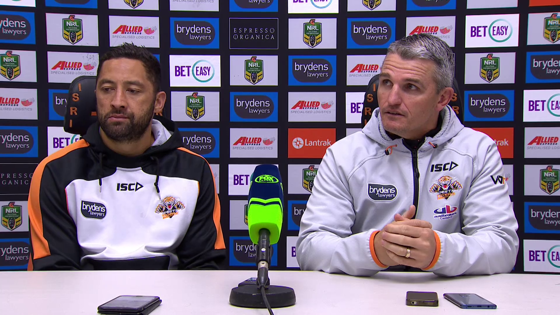 Wests Tigers press conference - Round 23, 2018