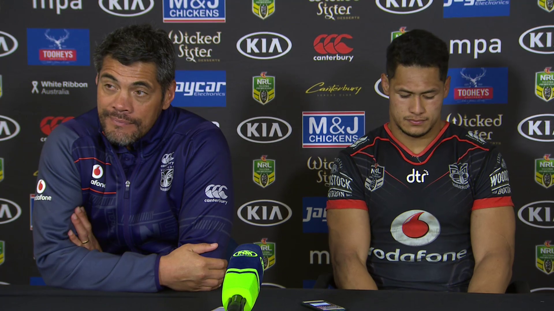 Warriors press conference: Round 23, 2018