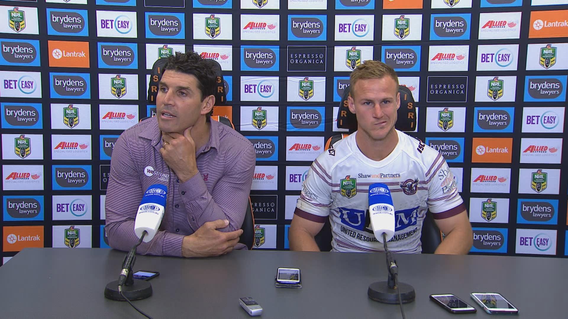 Sea Eagles press conference - Round 24