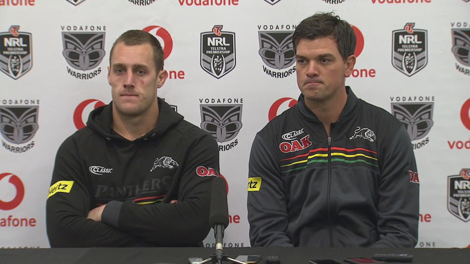 Panthers press conference - Round 24
