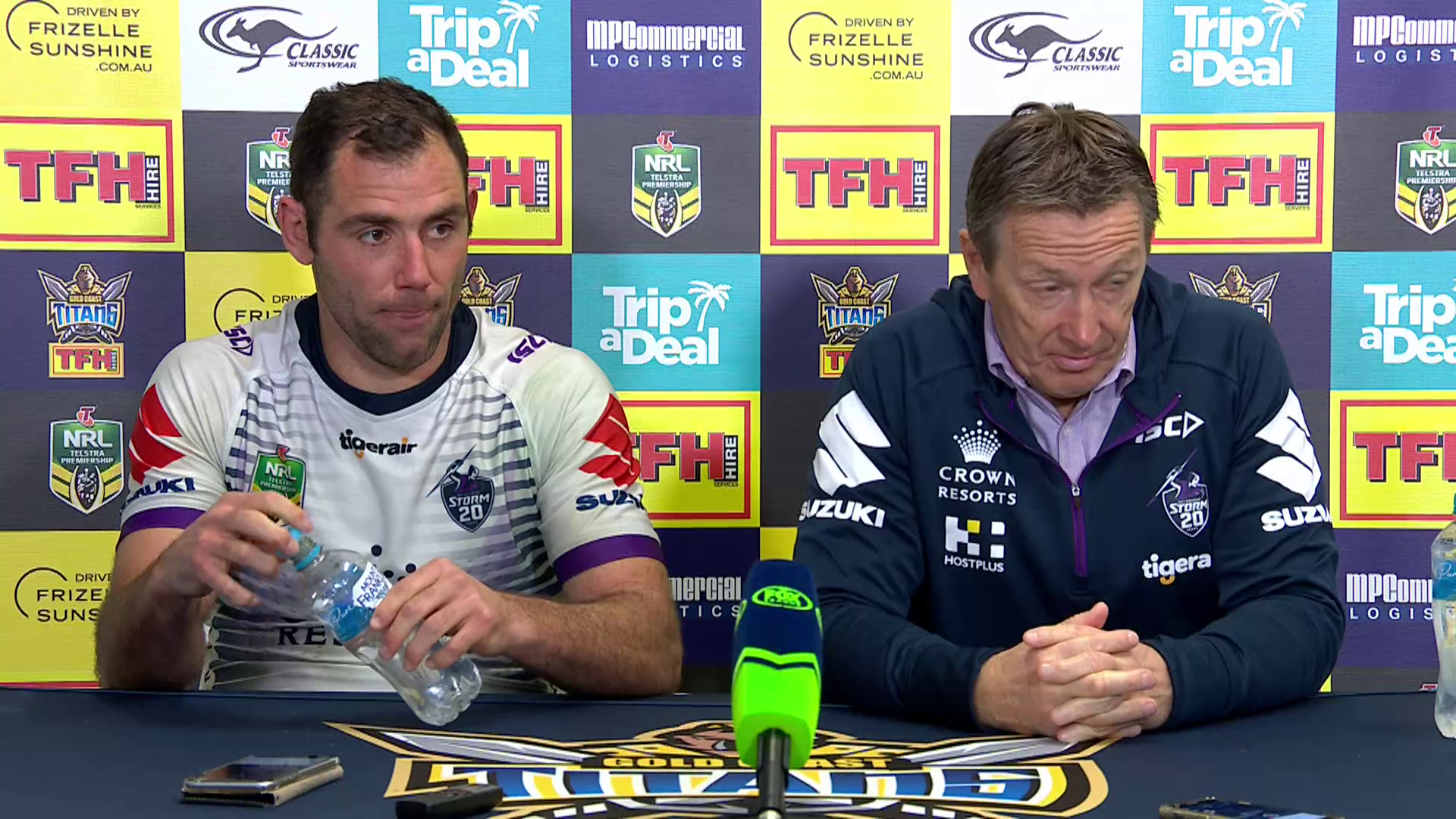 Storm press conference – Round 24, 2018