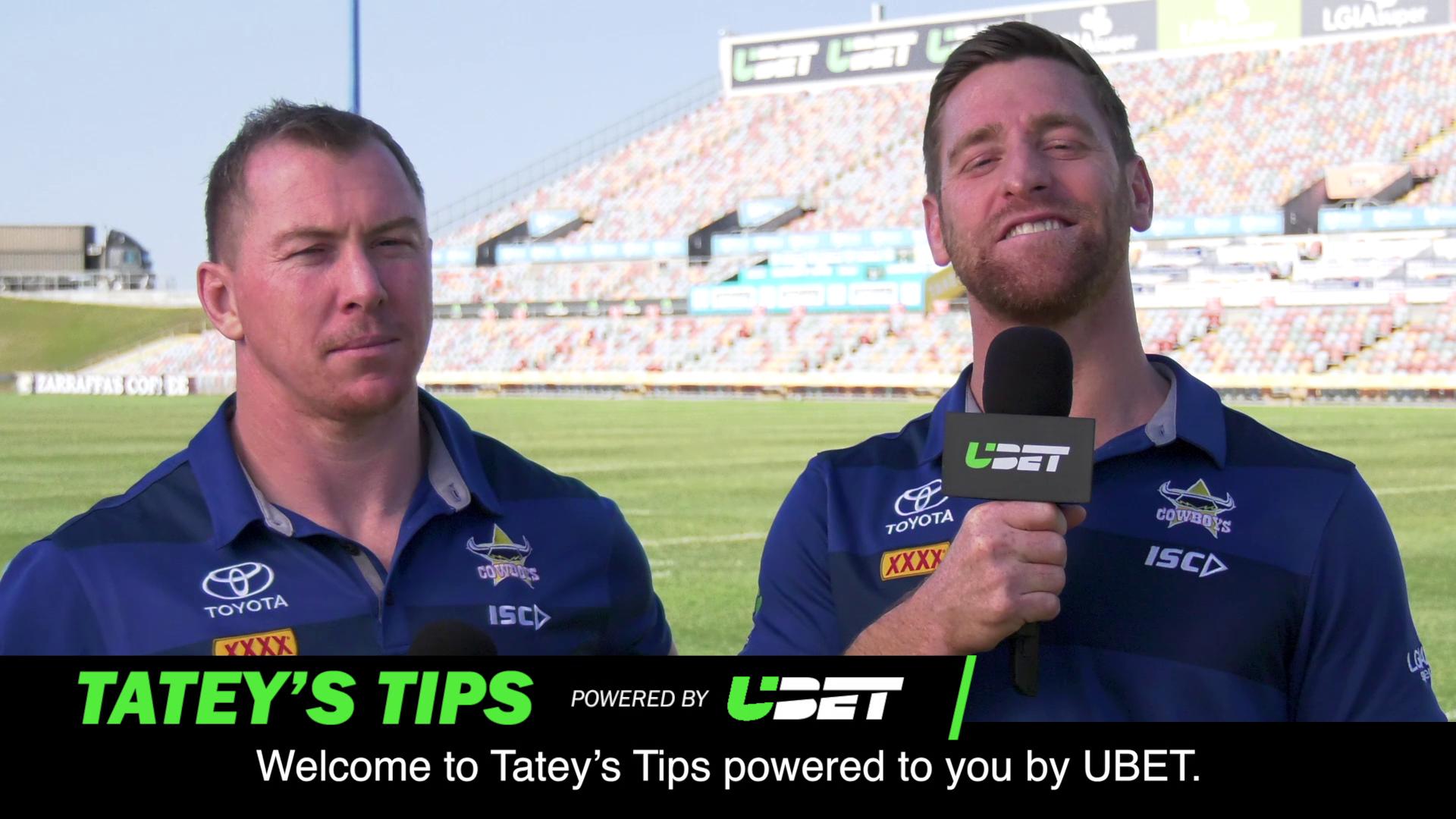 Tatey's Tips – Round 25 - Cowboys