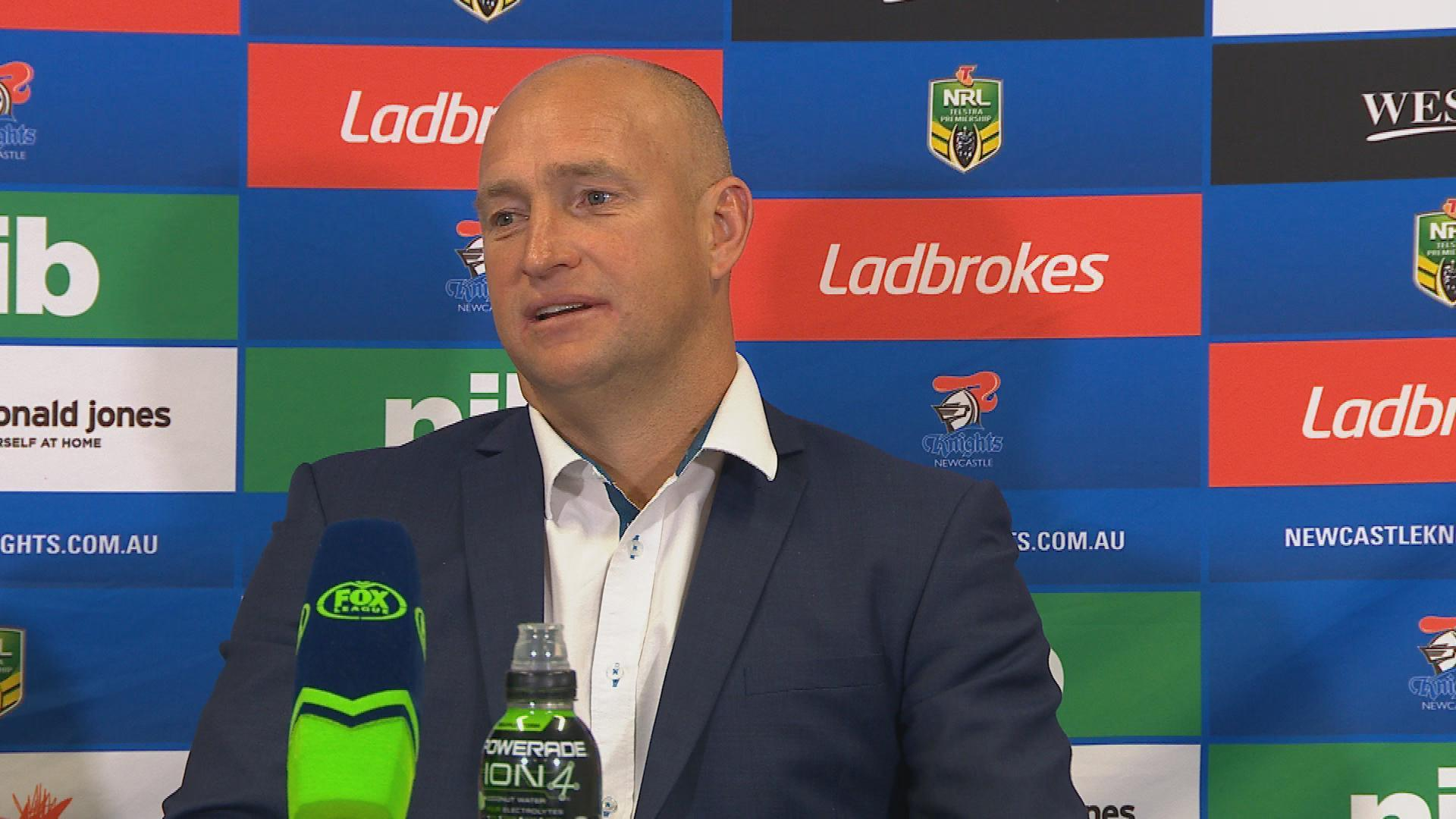 Knights press conference - Round 25