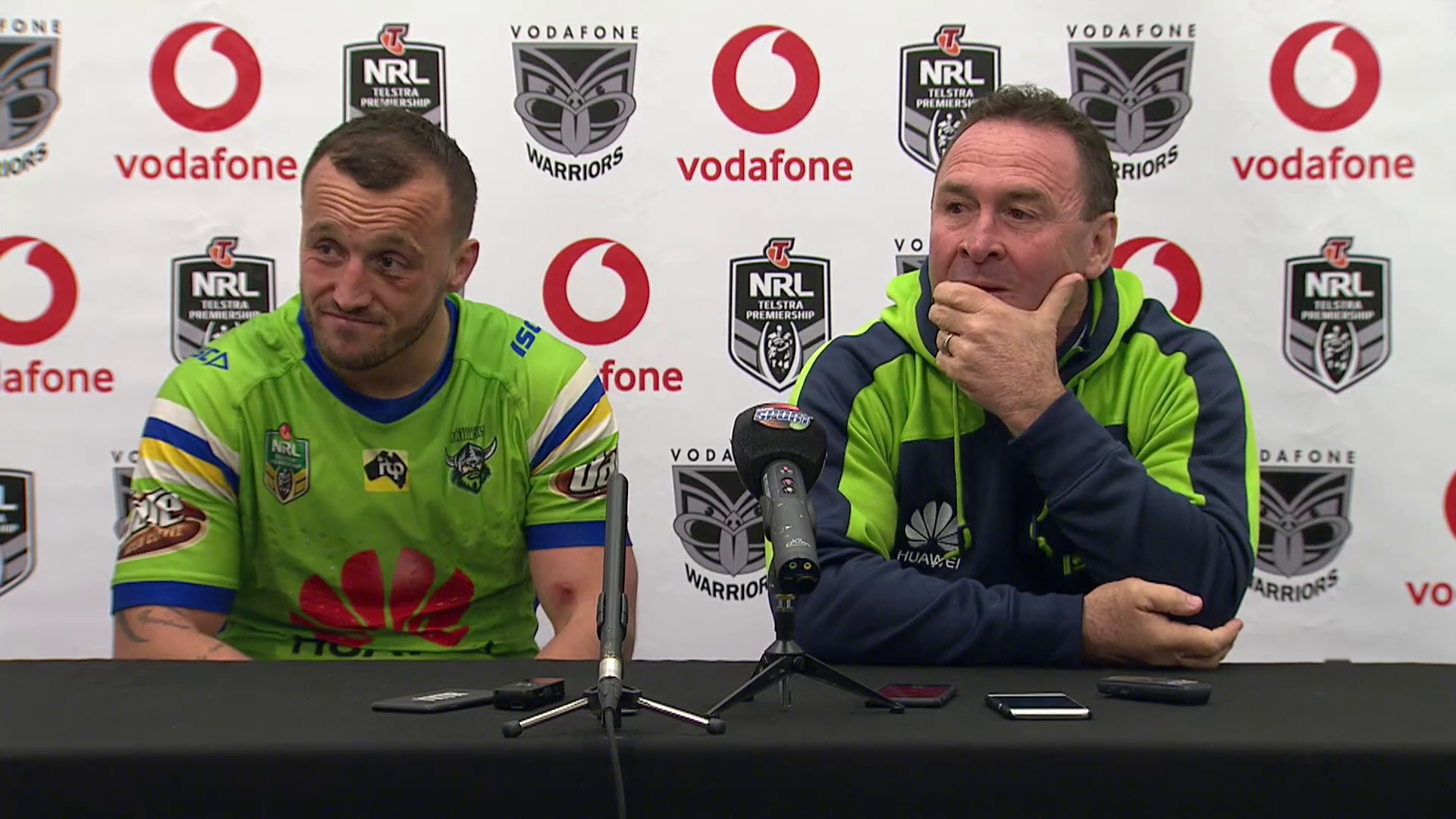 Raiders press conference - Round 25