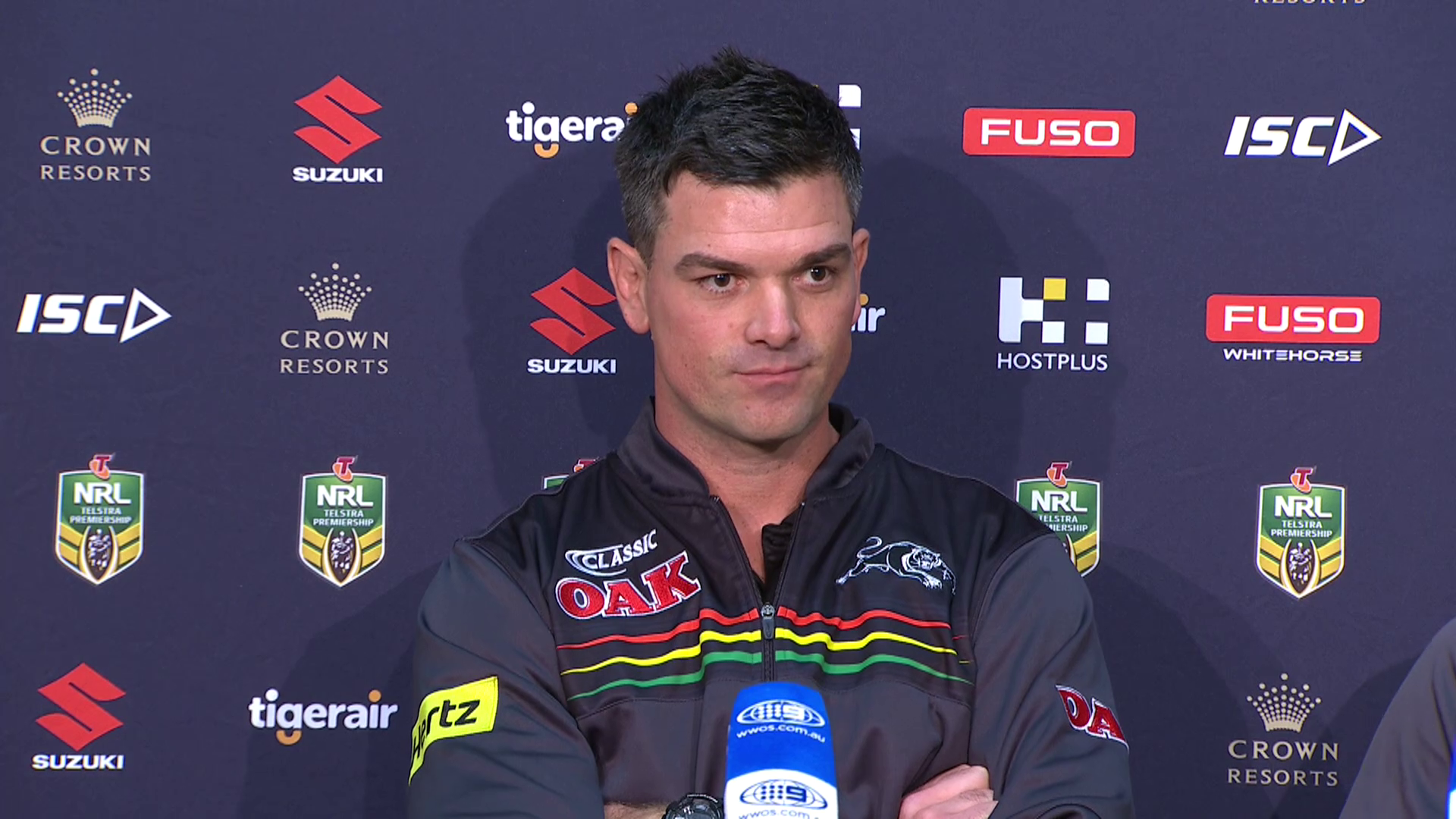 Panthers press conference - Round 25