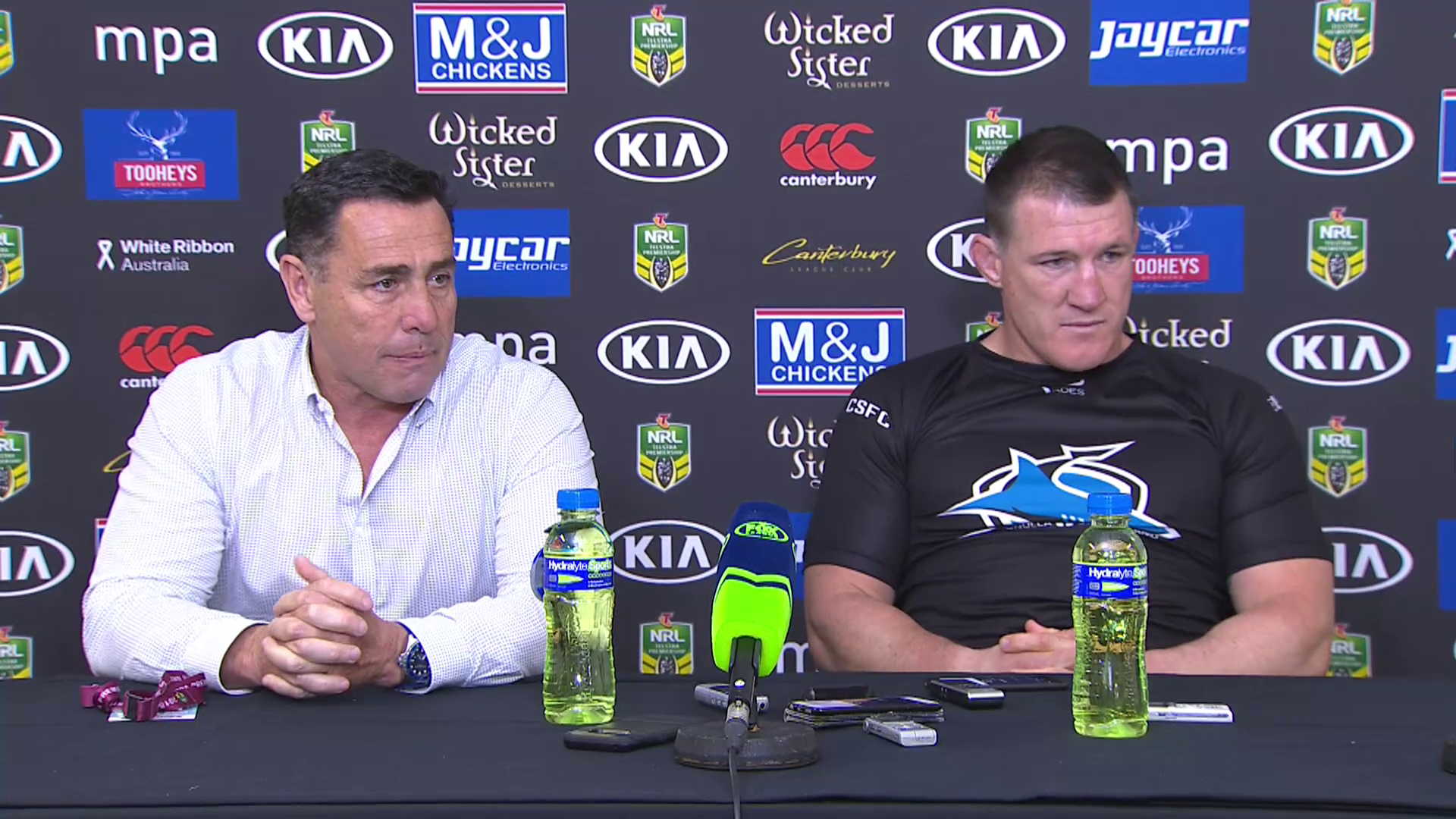 Sharks press conference: Round 25, 2018