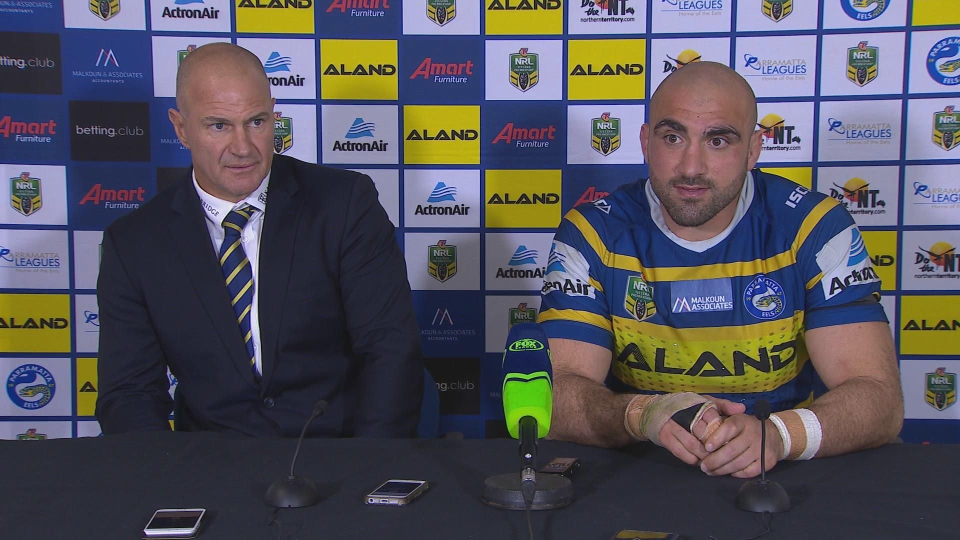 Eels press conference - Round 25