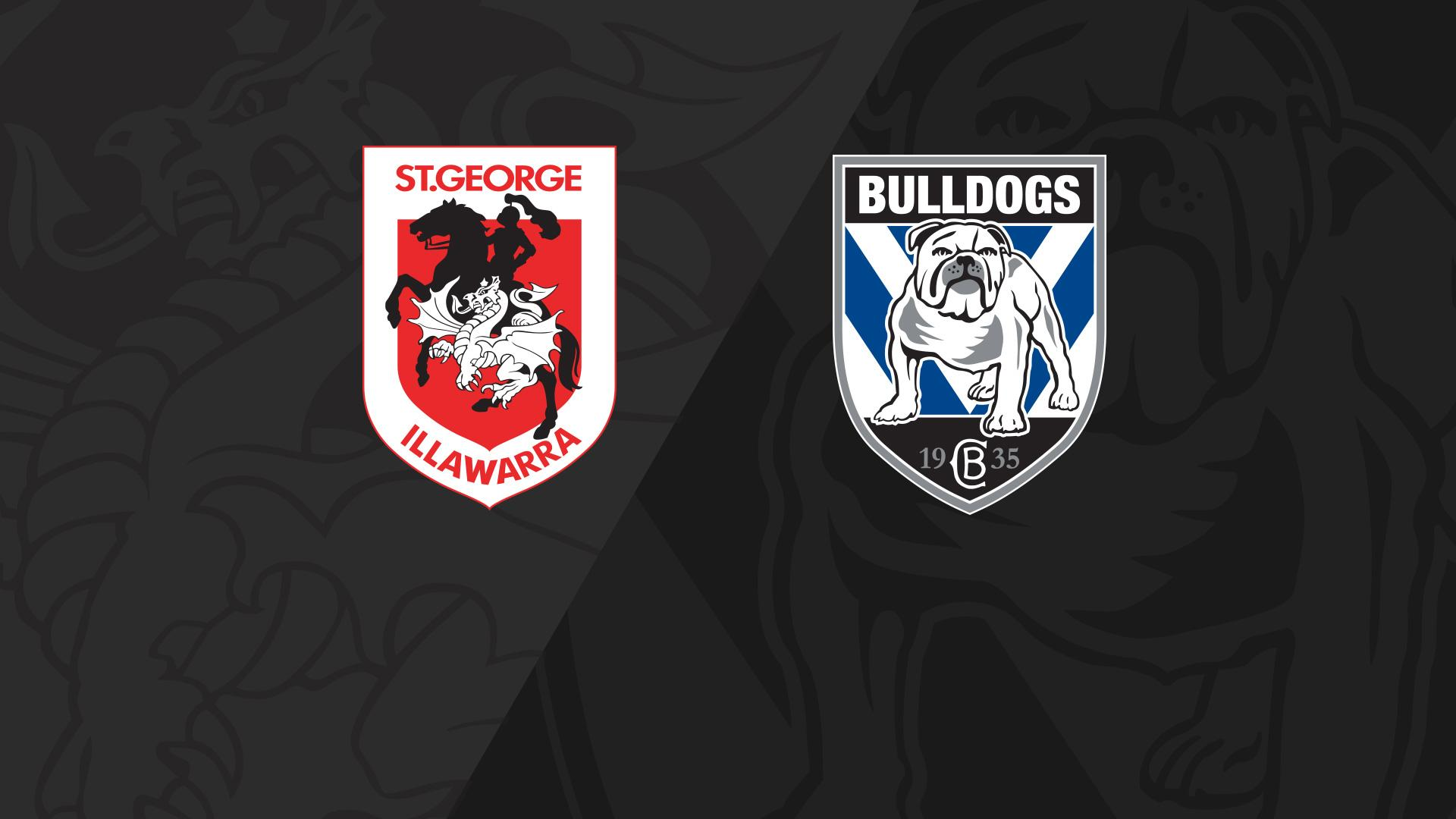 Full Match Replay: Dragons v Bulldogs - Round 24, 2018