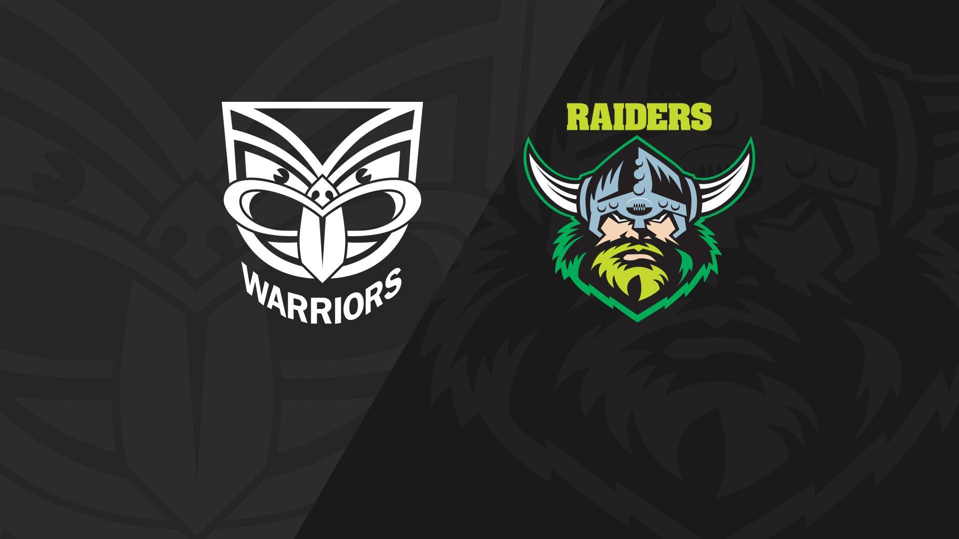 Full Match Replay: Warriors v Raiders - Round 25, 2018