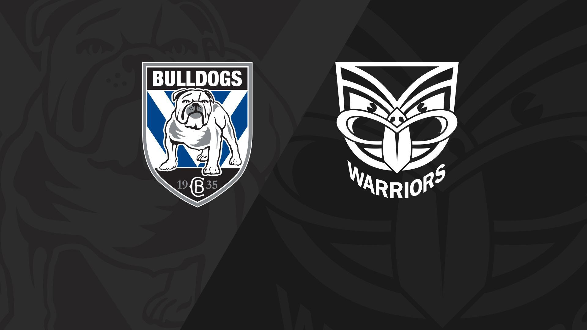 Full Match Replay: Bulldogs v Warriors - Round 23, 2018