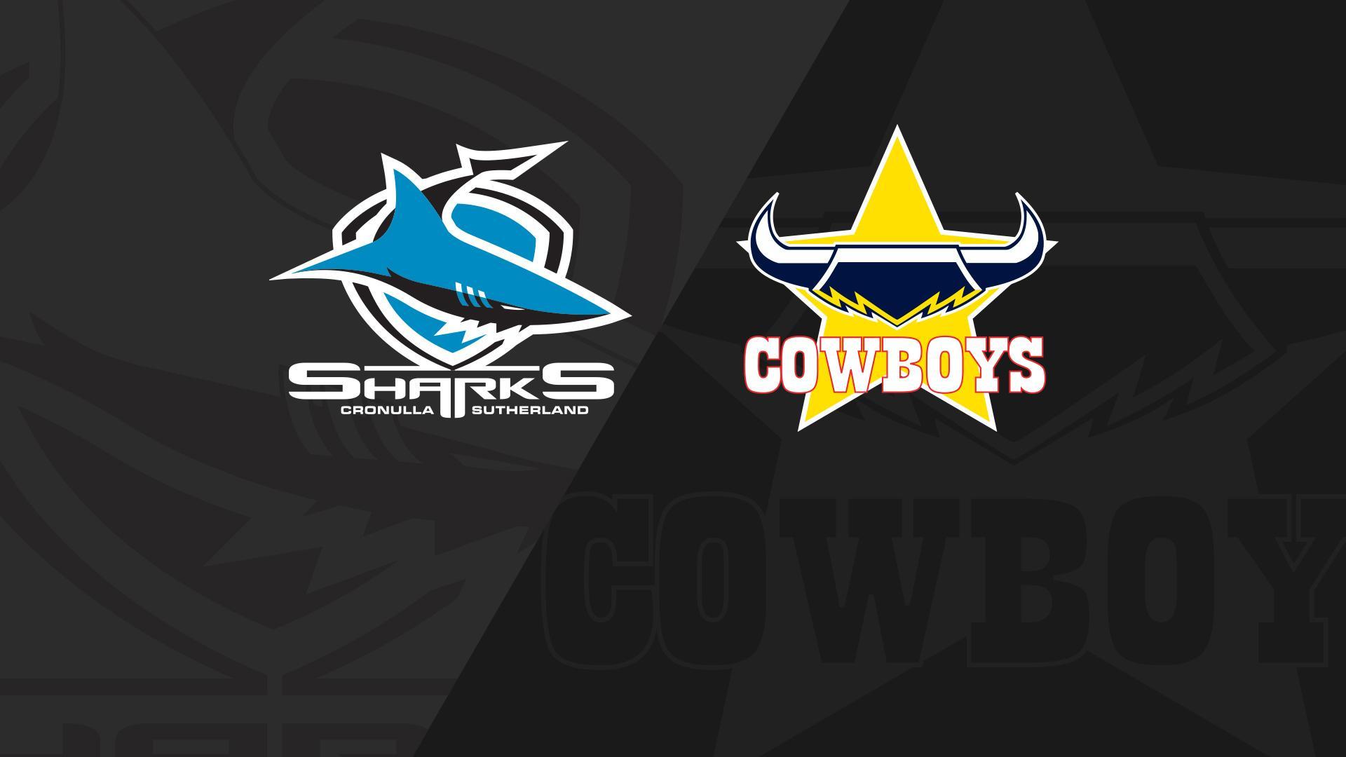 Full Match Replay: Sharks v Cowboys - Round 23, 2018