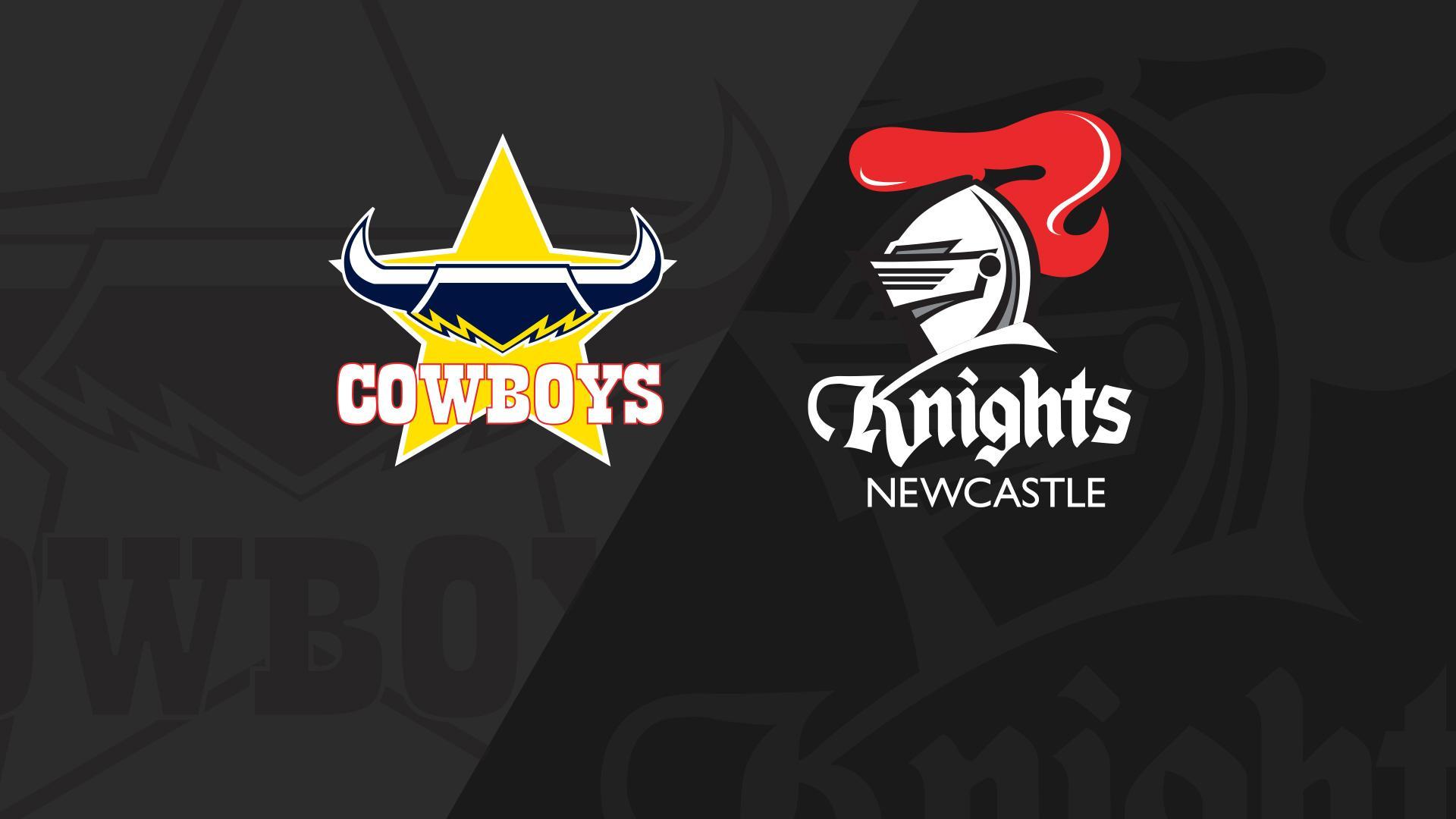 Full Match Replay: Cowboys v Knights - Round 20, 2018