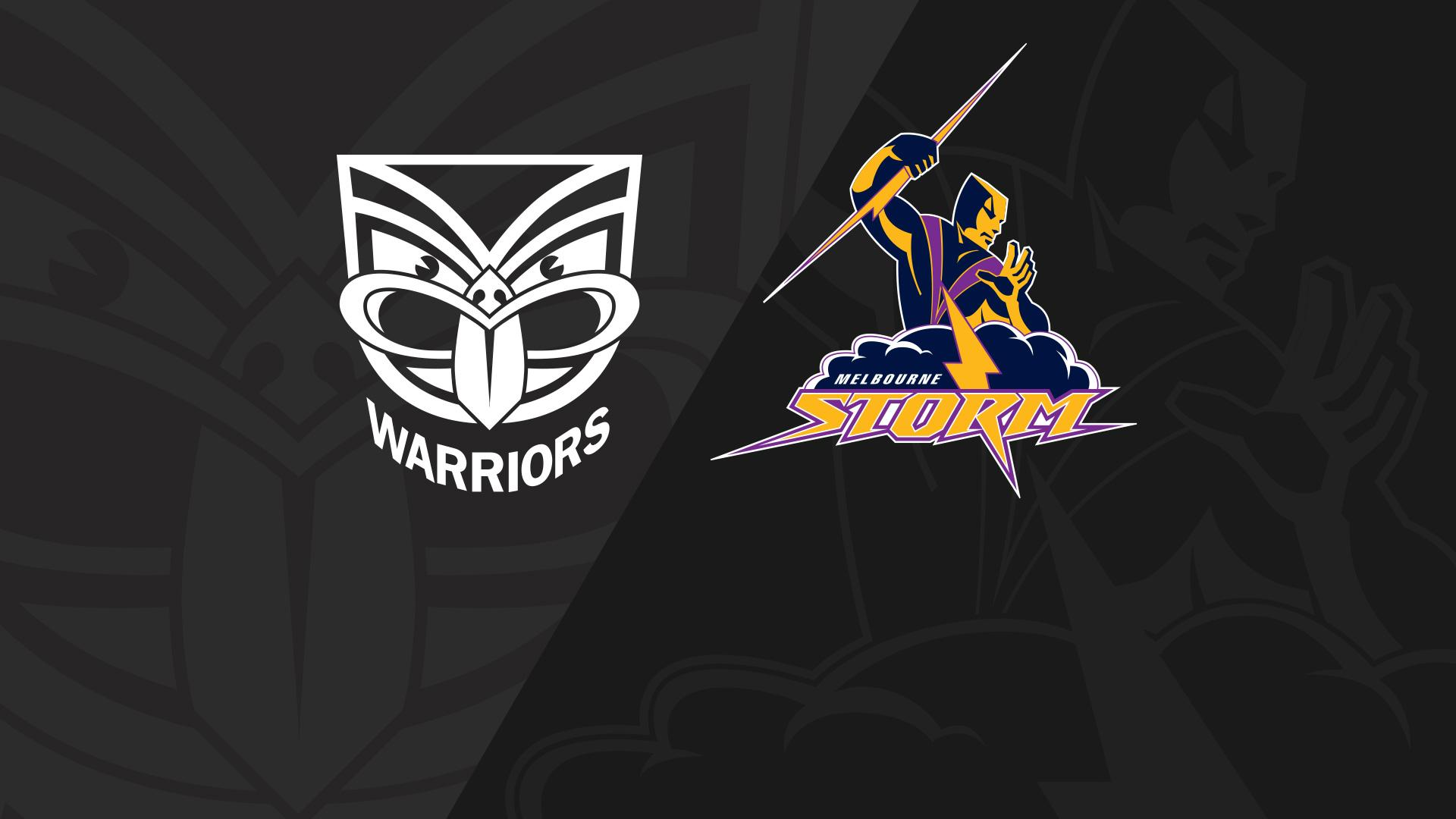 Full Match Replay: Warriors v Storm - Round 19, 2018