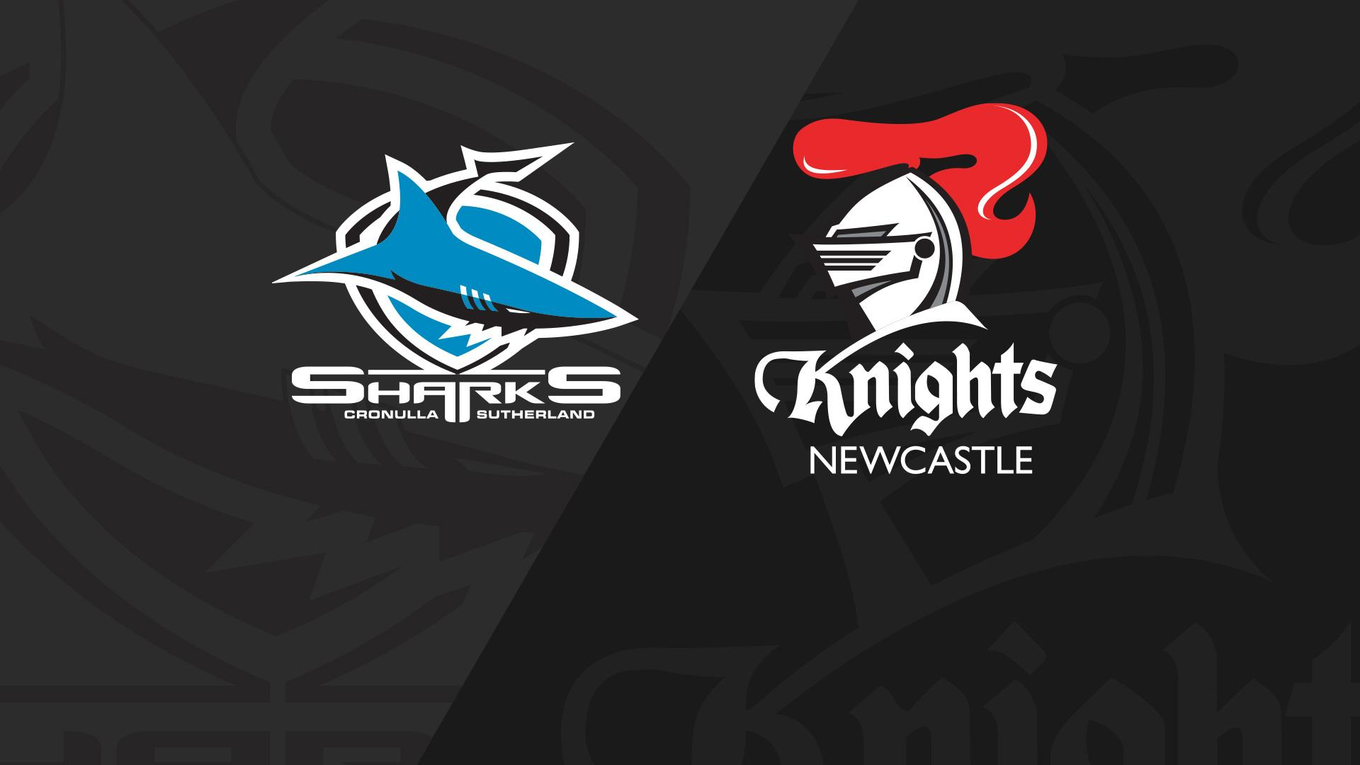 Full Match Replay: Sharks v Knights - Round 24, 2018