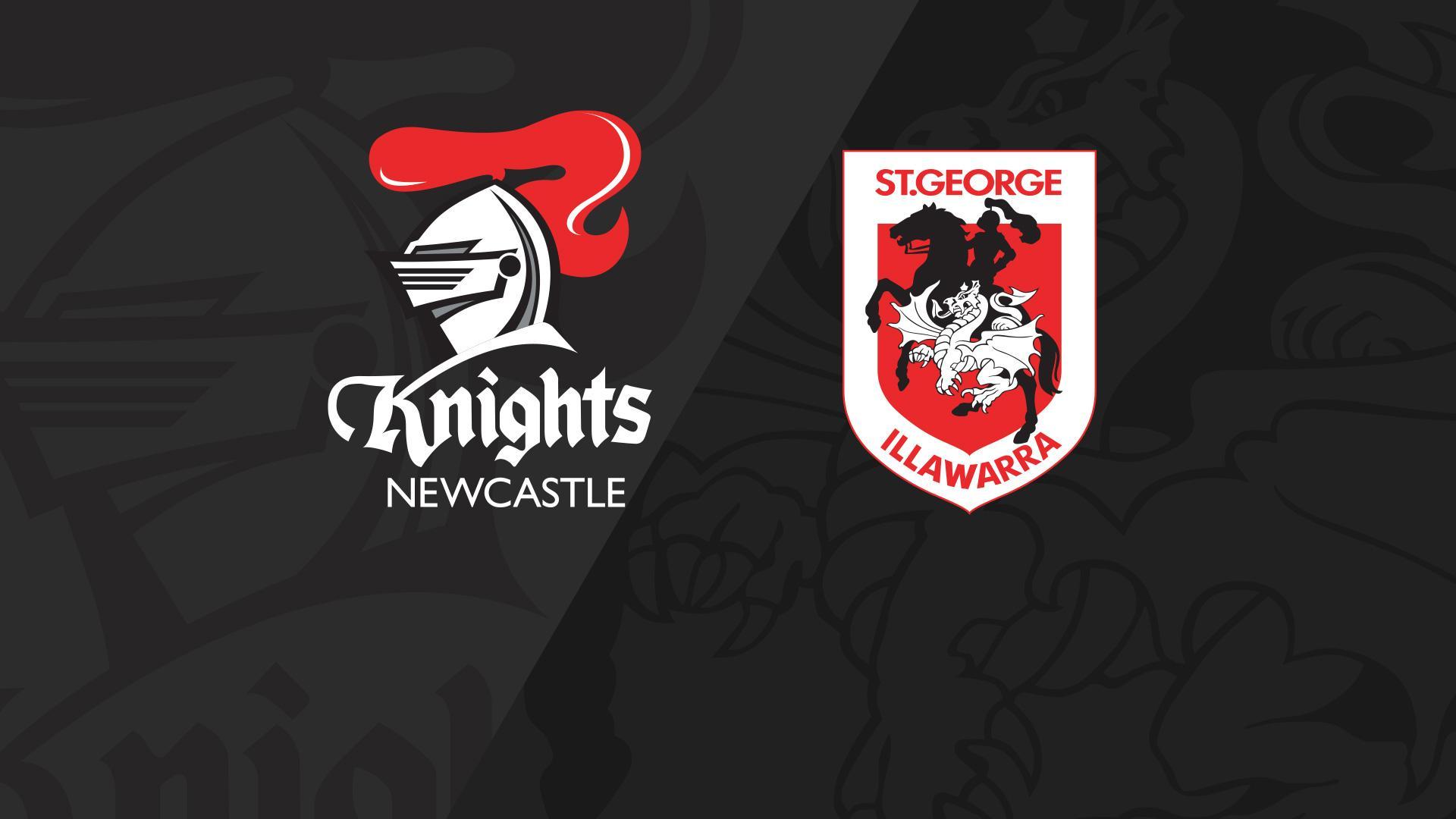 Full Match Replay: Knights v Dragons - Round 25, 2018