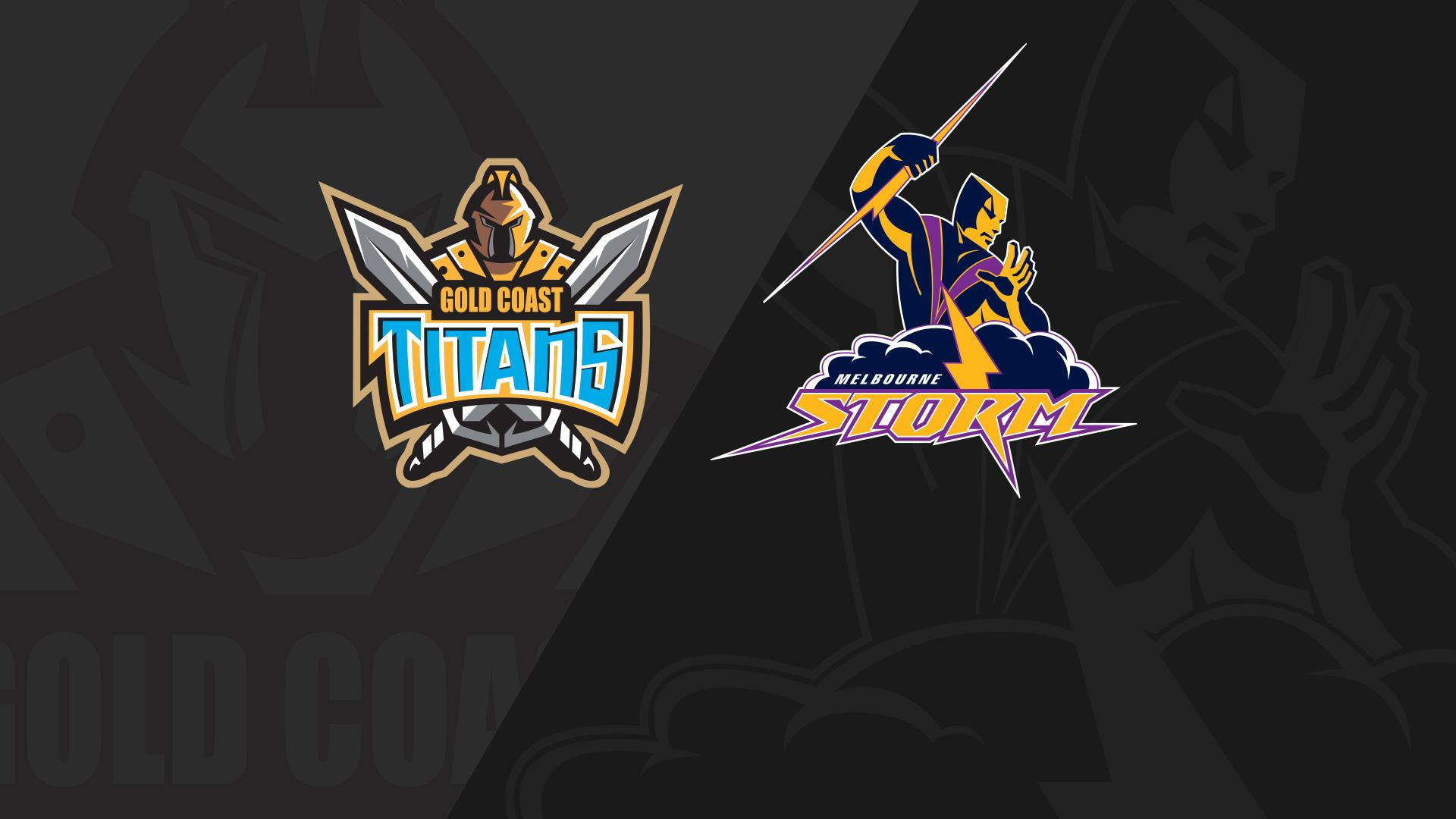 Full Match Replay: Titans v Storm - Round 24, 2018