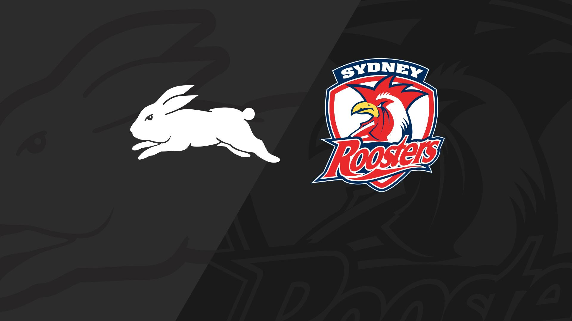 Full Match Replay: Rabbitohs v Roosters - Round 22, 2018