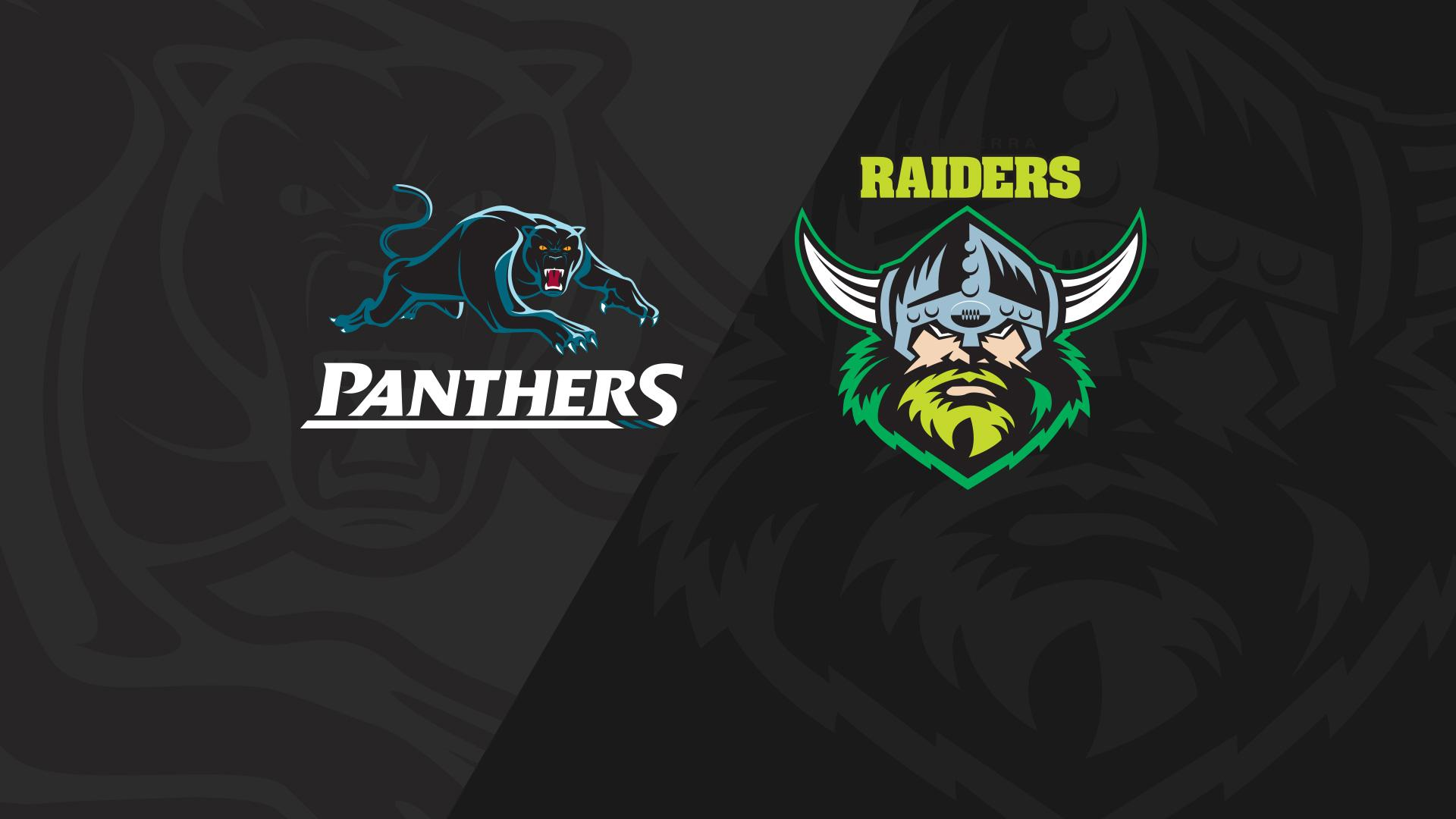 Full Match Replay: Panthers v Raiders - Round 21, 2018