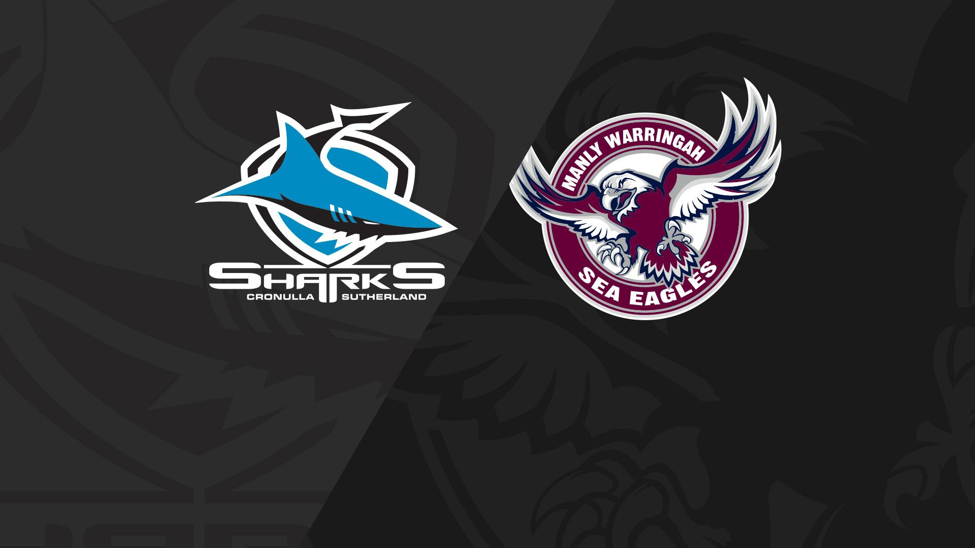 Full Match Replay: Sharks v Sea Eagles - Round 21, 2018