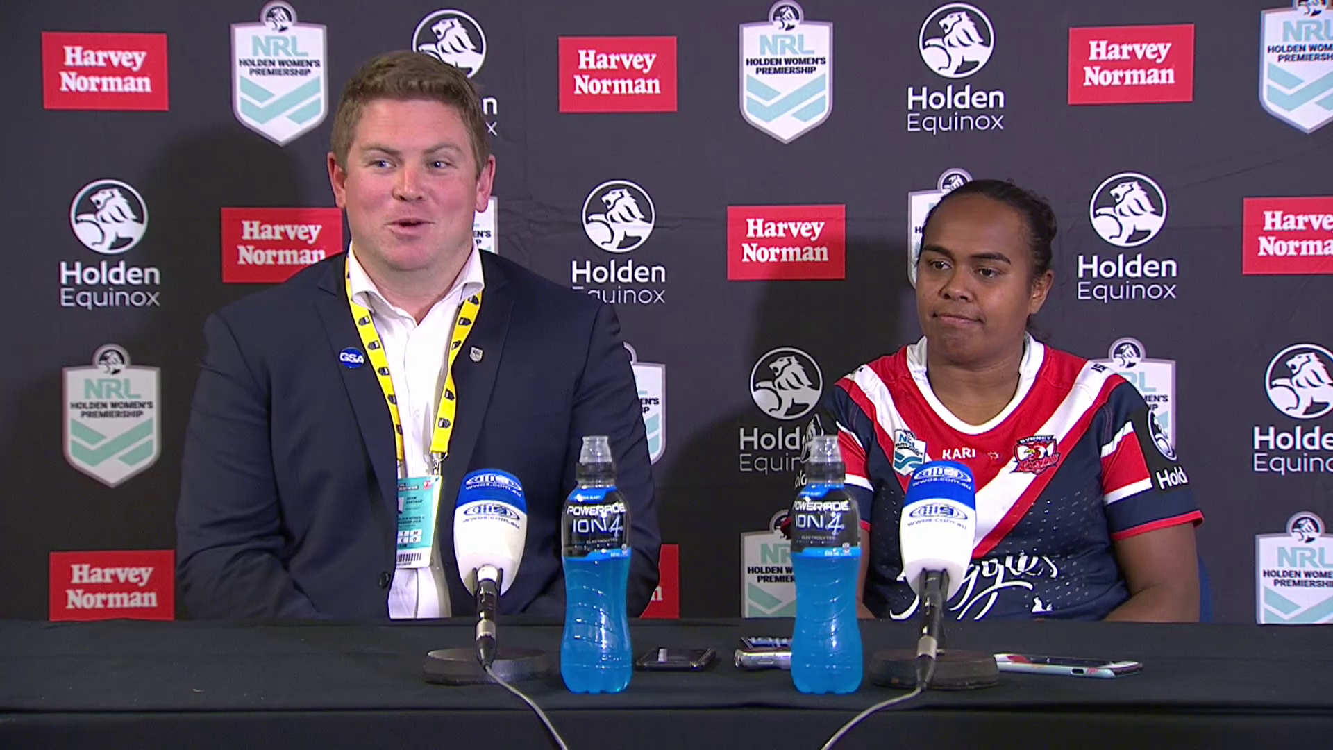 Roosters press conference – NRLW Round 1, 2018