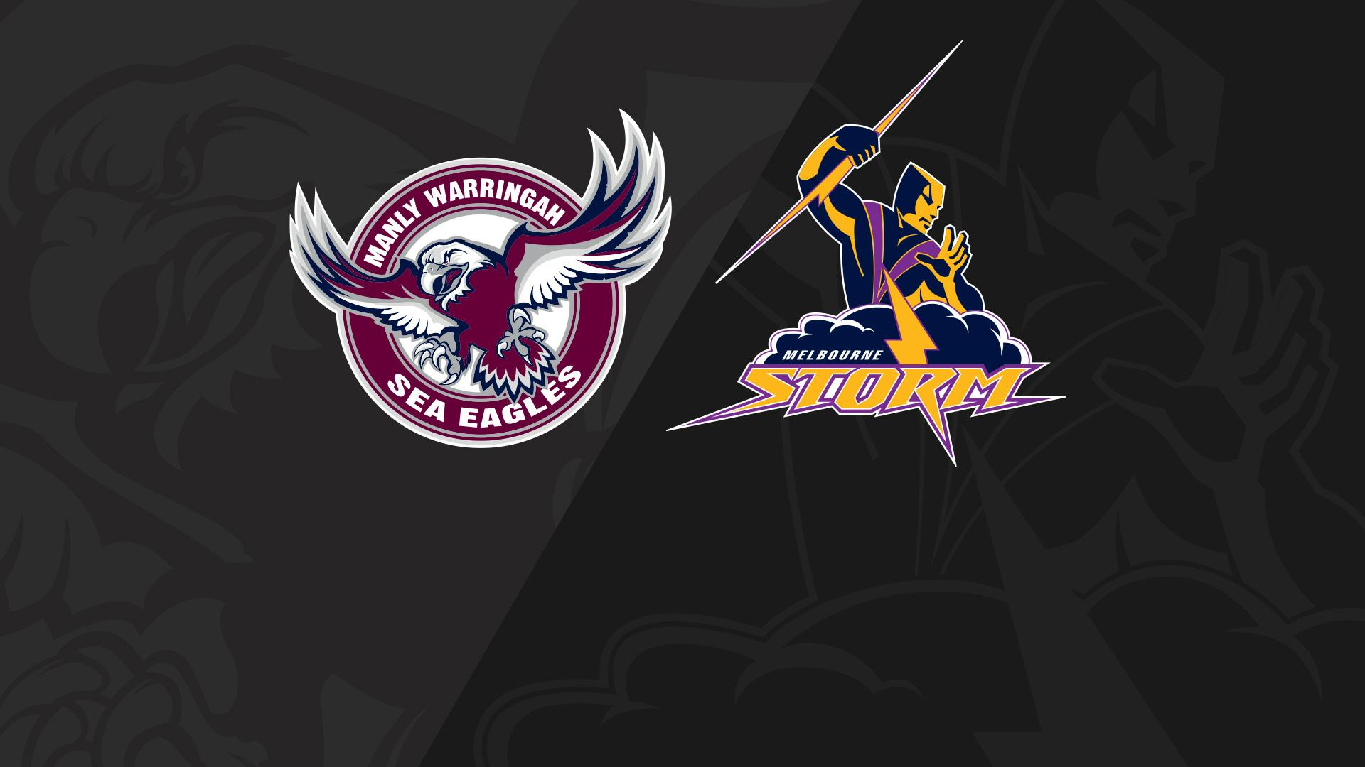 Full Match Replay: Sea Eagles v Storm - Round 18, 2018
