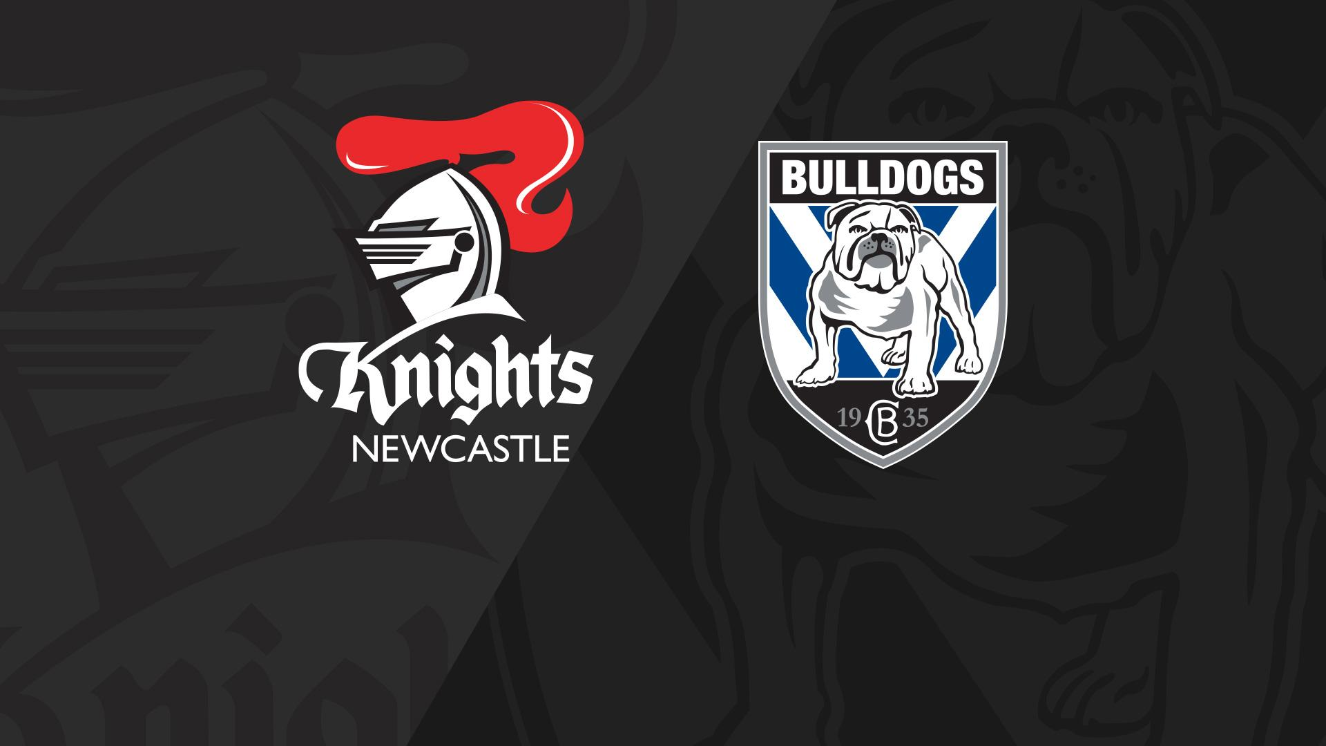 Full Match Replay: Knights v Bulldogs - Round 16, 2018