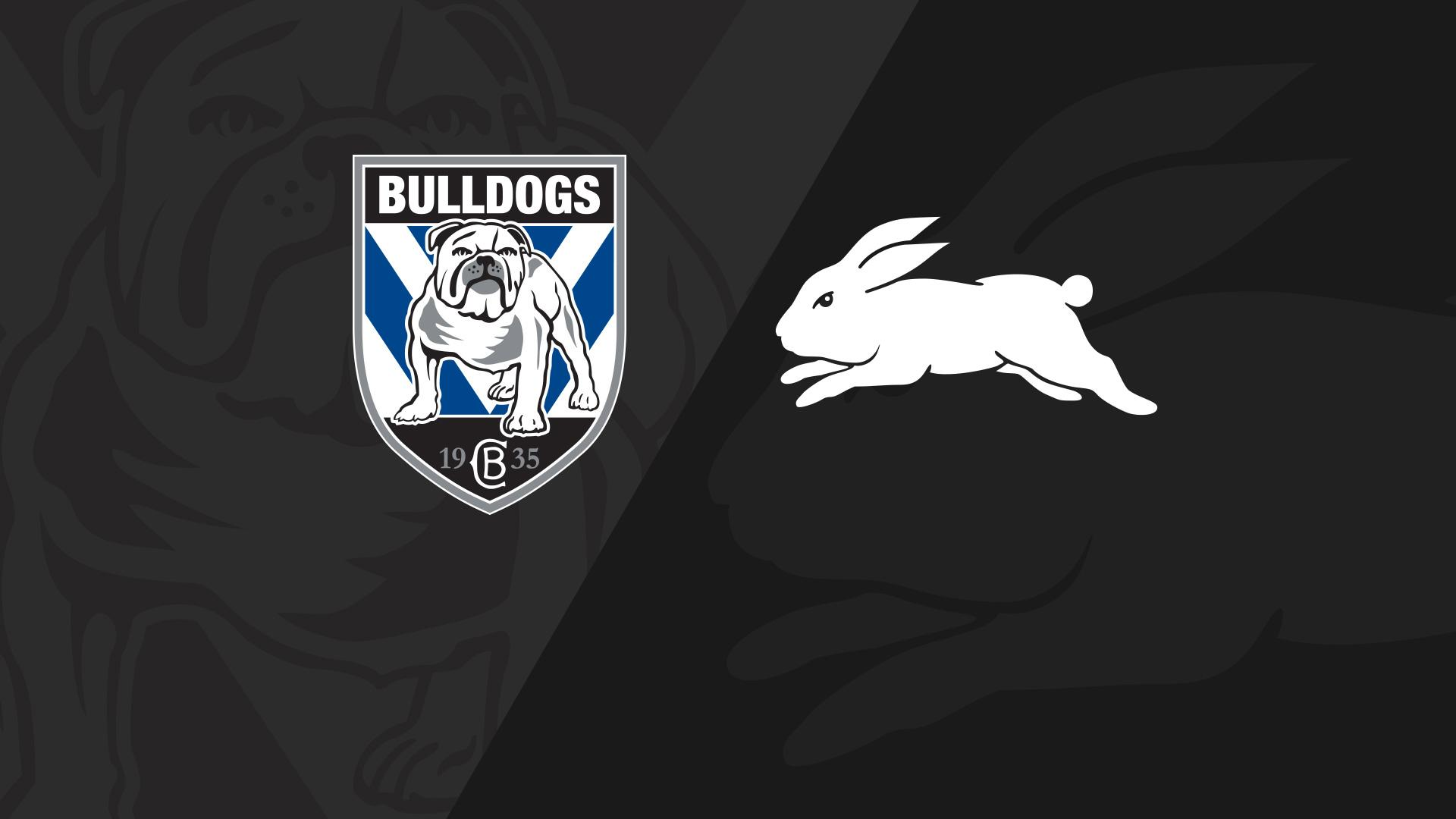 Full Match Replay: Bulldogs v Rabbitohs - Round 18, 2018