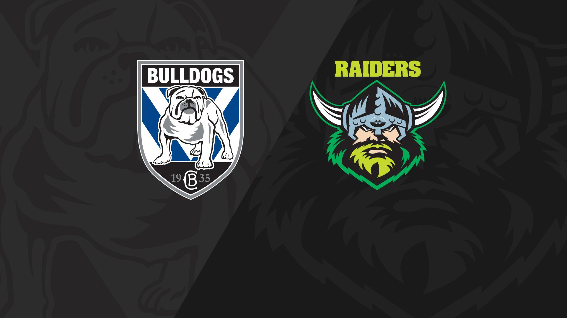 Full Match Replay: Bulldogs v Raiders - Round 17, 2018
