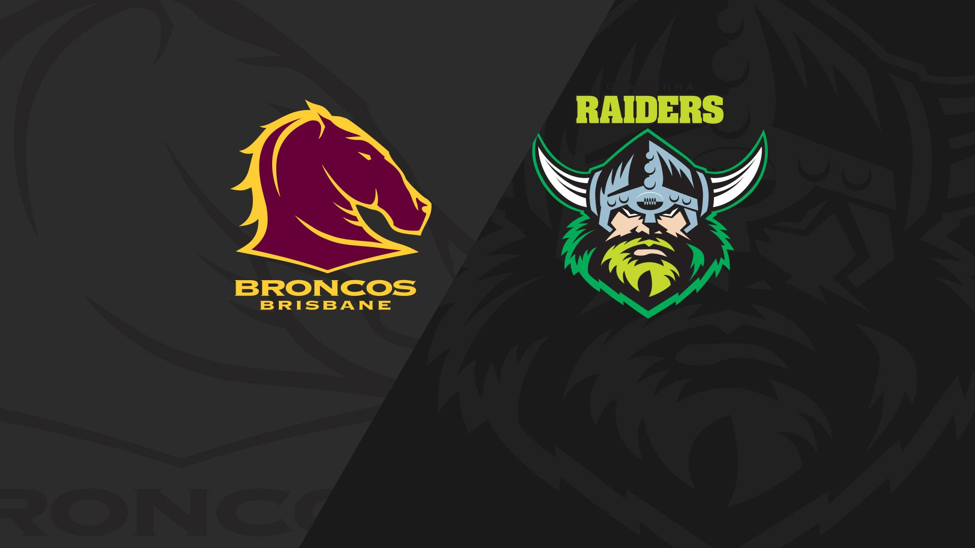 Full Match Replay: Broncos v Raiders - Round 16, 2018