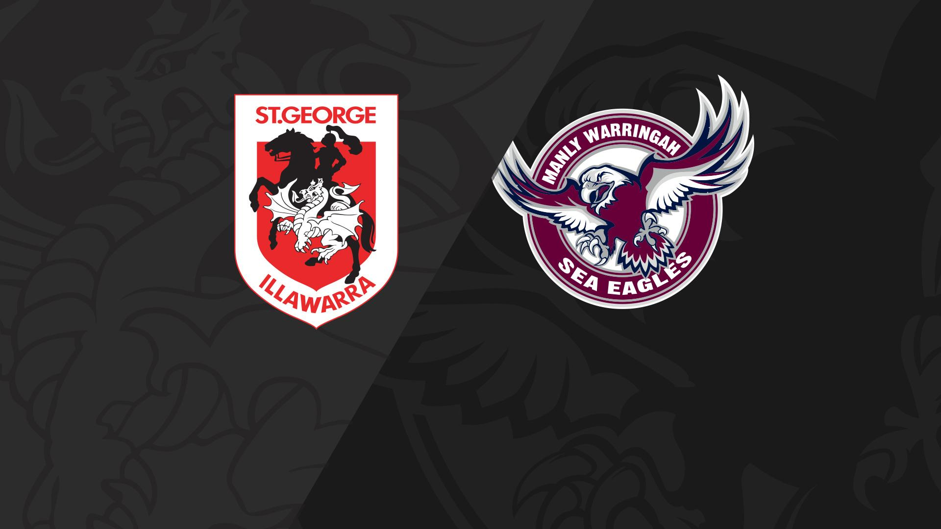 Full Match Replay: Dragons v Sea Eagles - Round 15, 2018