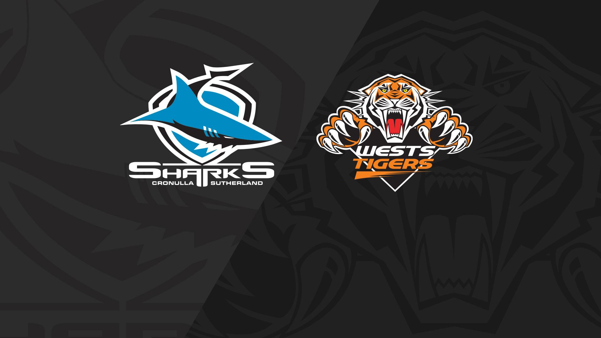 Full Match Replay: Sharks v Wests Tigers - Round 14, 2018