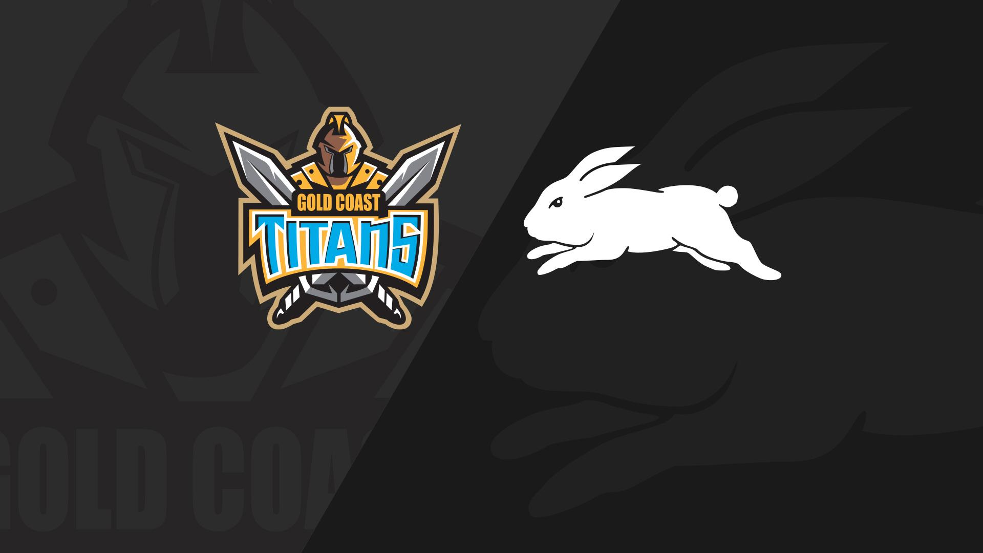 Full Match Replay: Titans v Rabbitohs - Round 14, 2018